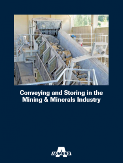 Aumund Conveying and Storing in the Mining Minerals Indutry