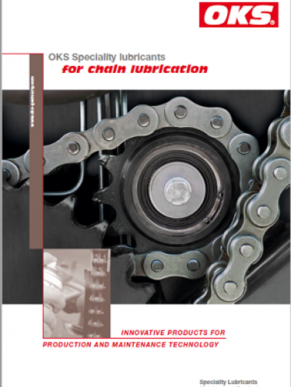 OKS Speciality lubricants for chain lubrication