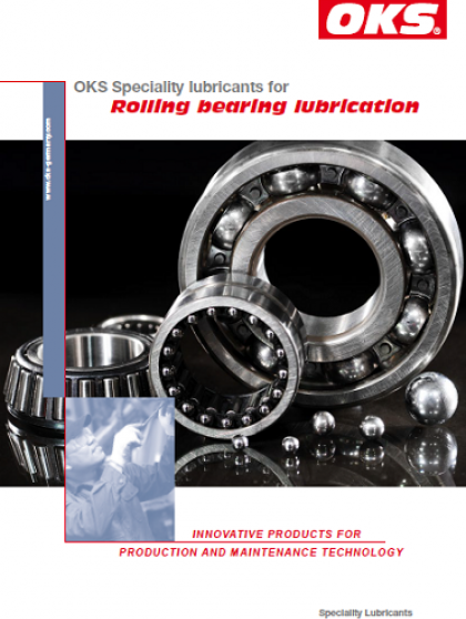 OKS Speciality lubricants for rolling bearing lubrication